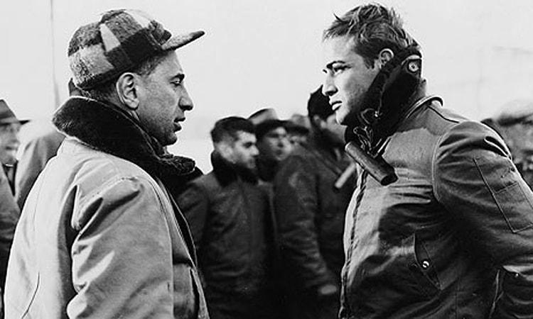 Elia Kazan & Marlon Brando